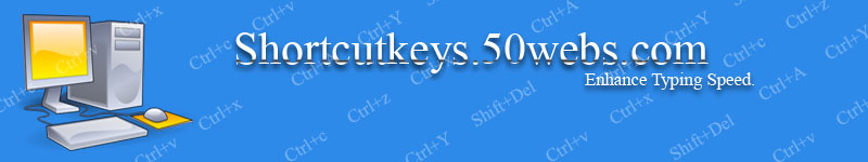 www.shortcutkeys.com